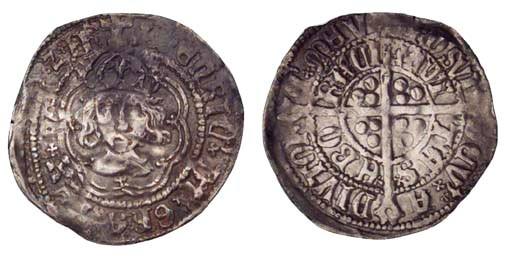 Henry VII, Halfgroat, York (Ep