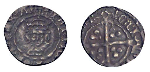 Henry VII, Halfpenny, 0.31g.,