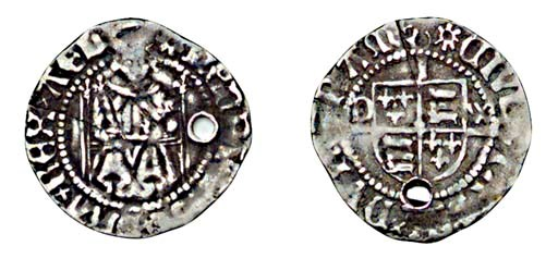 Henry VIII, Penny, first coina
