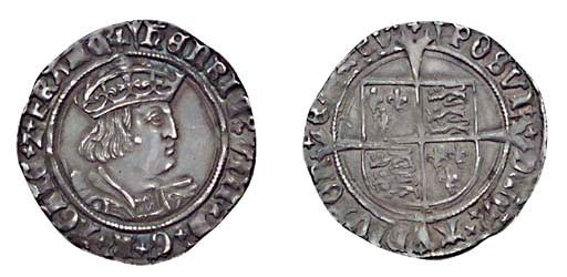 Henry VIII, Groat, 2.71g., sec