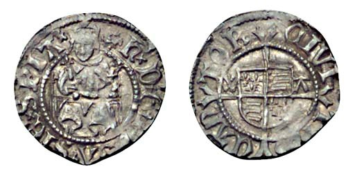 Henry VIII, Penny, 0.71g., sec