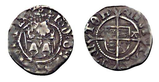 Henry VIII, Penny, 0.72g., sec