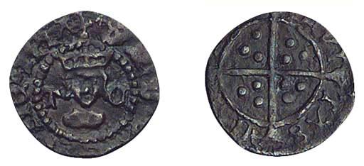 Henry VIII, Halfpenny, 0.38g.,