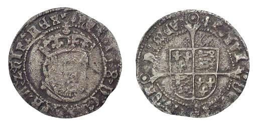 Henry VIII, Groat, 2.11g., thi