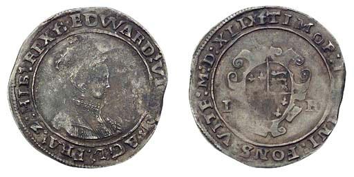 Edward VI, Shilling, 5.43g., s