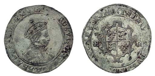 Edward VI, Shilling, 5.04g., s