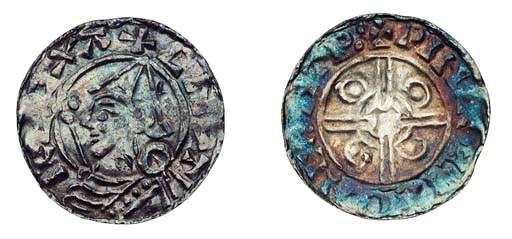 Cnut (1016-35), Penny, Helmet