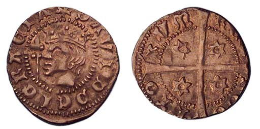David II, Penny, first coinage