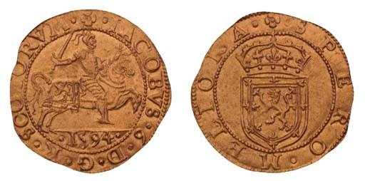 James VI, Rider, 5.03g., seven