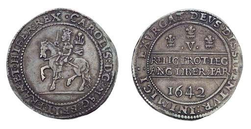 Charles I, Oxford Crown, 1642,