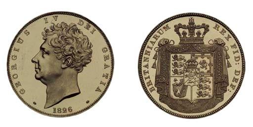 George IV (1820-1830), proof F