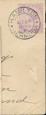 cover 1899 (26 Aug.) envelope