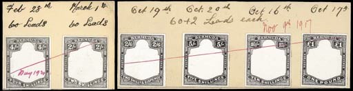 Proof  2/- to £1 set of six fr