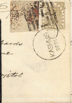 cover 1877 (1 Sept.) envelope