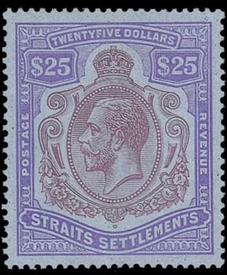 unused  1921-33 Script $25 pur