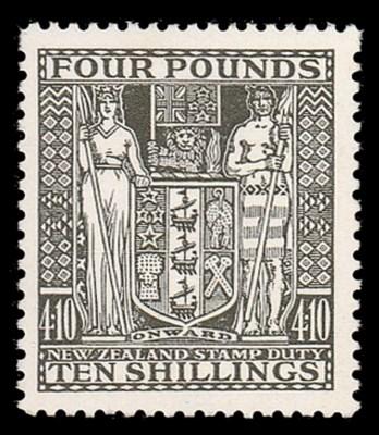 unmounted mint  -- £4.10s. dee