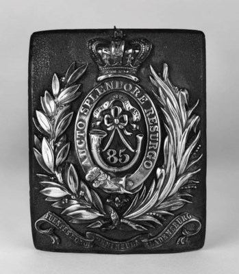 An Officer's Shoulderbelt Plat