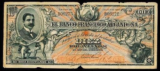 Bolivia, El Banco Francisco Ar