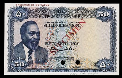 Central Bank Kenya, a set of c
