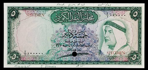 Kuwait, Currency Board, a set