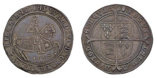 Fine Silver Issue, Crown, 1552