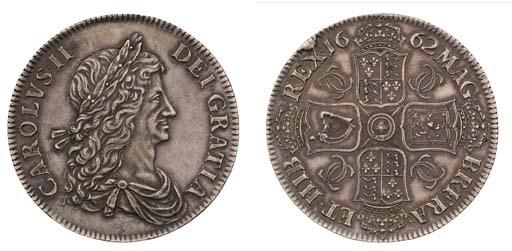 Proof Crown, 1662, by John Roe