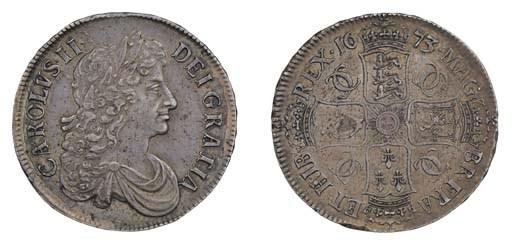 Crown, 1673, by John Roettier,
