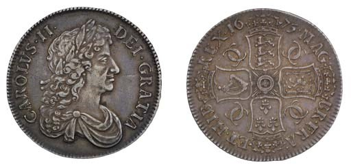 Crown, 1675, by John Roettier,