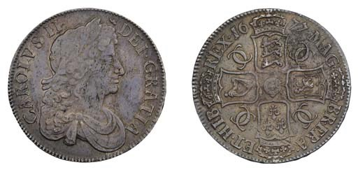Crown, 1677, 7 over 6, by John