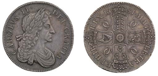 Crown, 1681, by John Roettier,