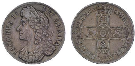 Crown, 1686, by John Roettier,
