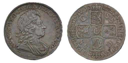 Crown, 1723 SSC, by J R Ochs,