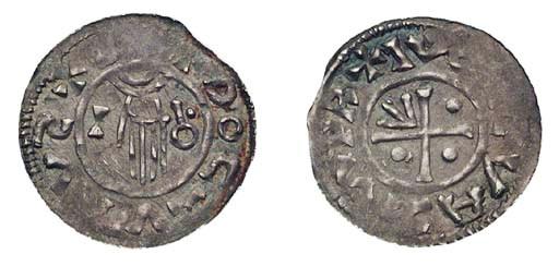 Boleslav II, Denar, meaningles