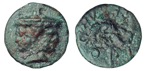 Ancient Greek Coins, Italy, Et