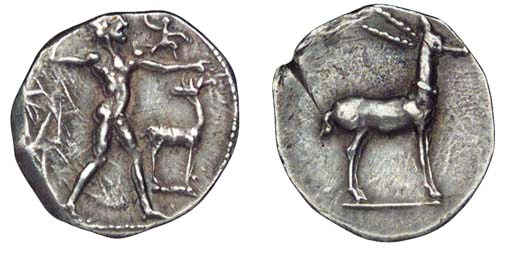 Ancient Greek Coins, Italy, Br