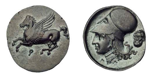 Ancient Greek Coins, Corinth (