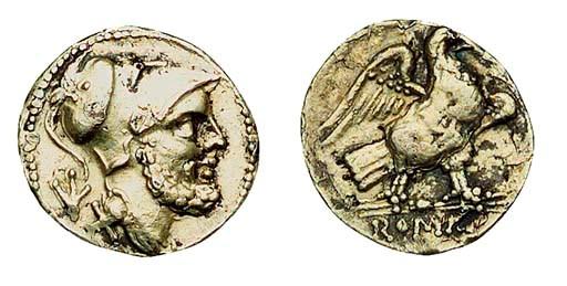 Roman Gold Coins, 60-As piece,