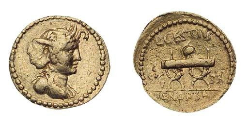 C Cestius and C Norbanus, Aure