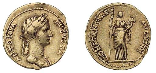 Antonia, mother of Claudius (+