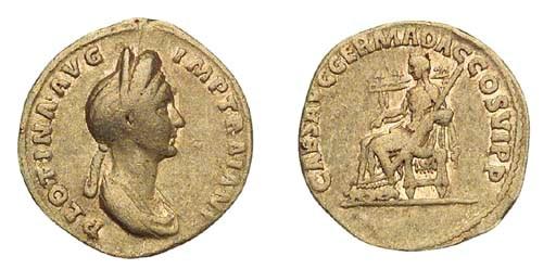 Plotina (wife of Trajan), Aure