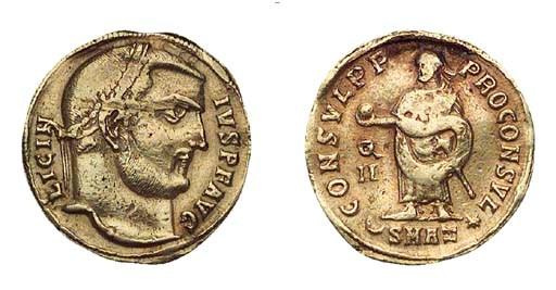 Licinius I (A.D. 308-324), Aur