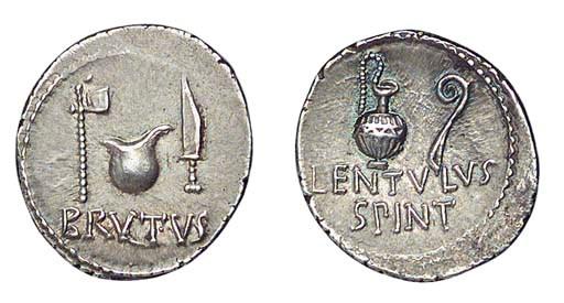 Roman Republic, M Brutus with