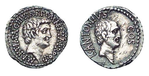 Roman Republic, Mark Antony an