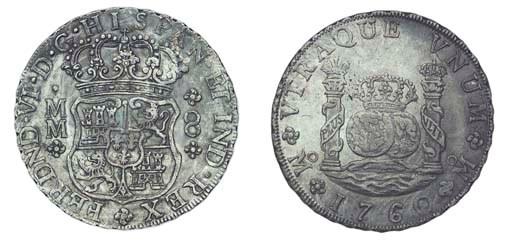 Pillar Dollar, 1760 MM, posthu