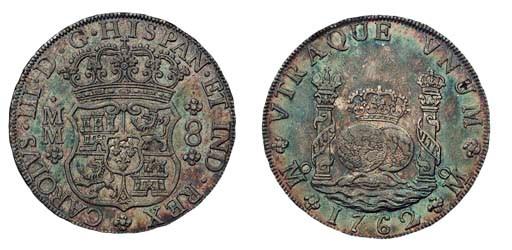 Pillar Dollar, 1762 MM (Cy.111