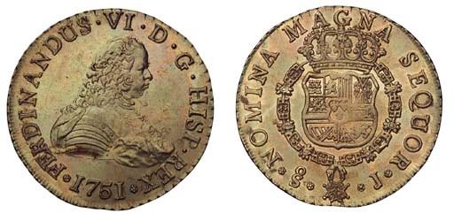 Foreign Coins, Chile, Fernando