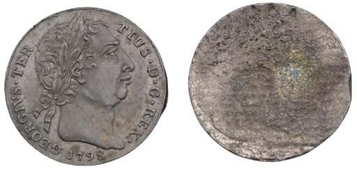 George III, pattern uniface ob