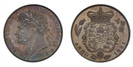 George IV (1820-30), proof Hal