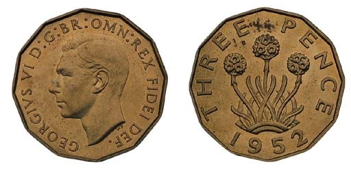 George VI (1936-52), proof Thr
