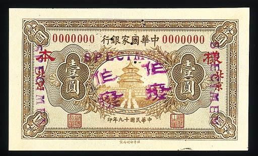 National Bank of China-Nanking